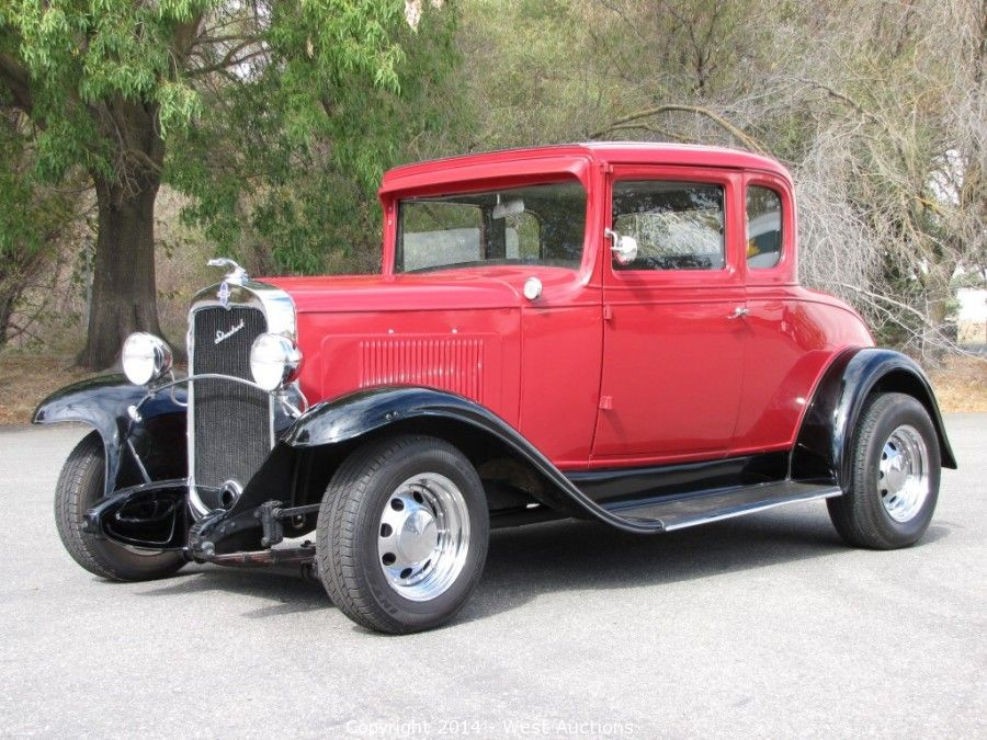 West auctions auction 1931 chevrolet two door classic for 1931 chevy 2 door sedan