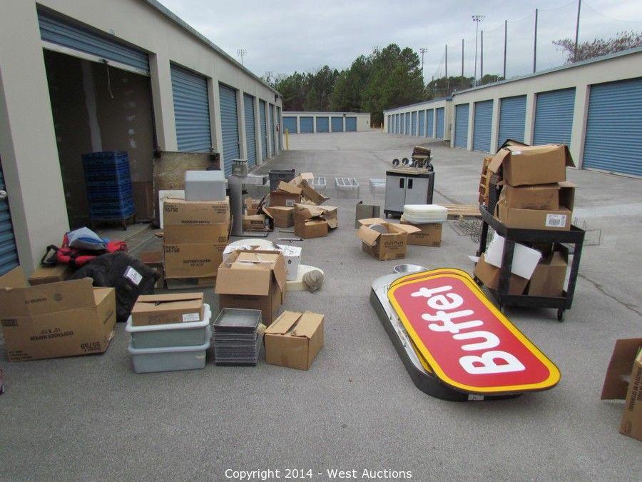 West auctions auction liquidation of restaurant