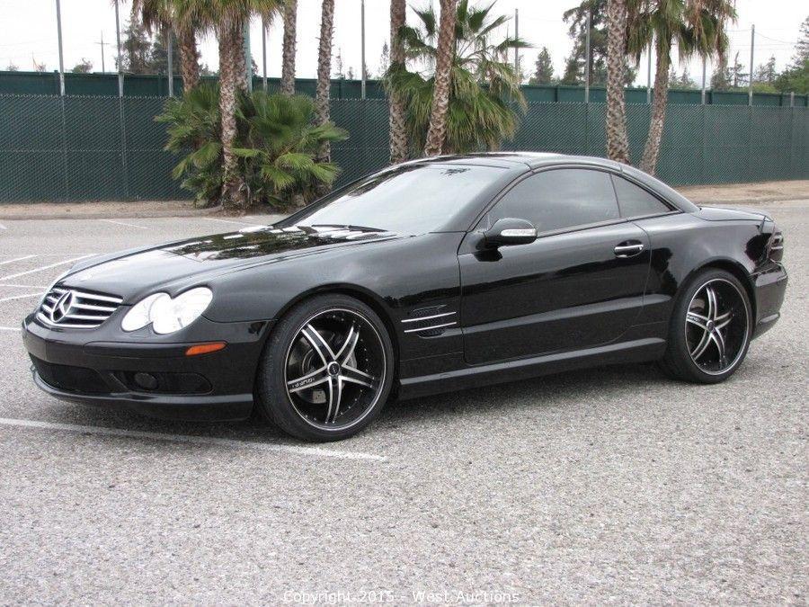 West auctions auction 2003 mercedes benz sl500 hardtop for Mercedes benz hardtop convertible