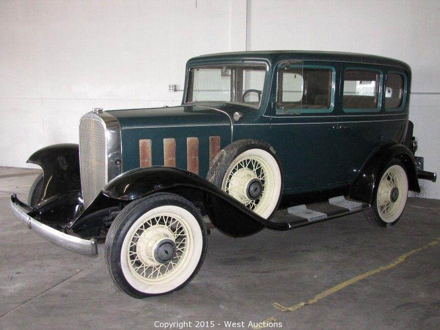 West auctions auction 1932 chevrolet confederate item for 1932 chevy 4 door sedan