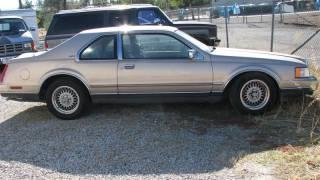 1991 Lincoln Mark VII LSC Sedan