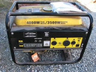 Champion 4000 Watt Generator