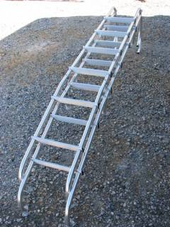 (2) Aluminum Motorhome Ladders