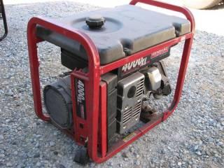 Generac 4000XL Watt Generator