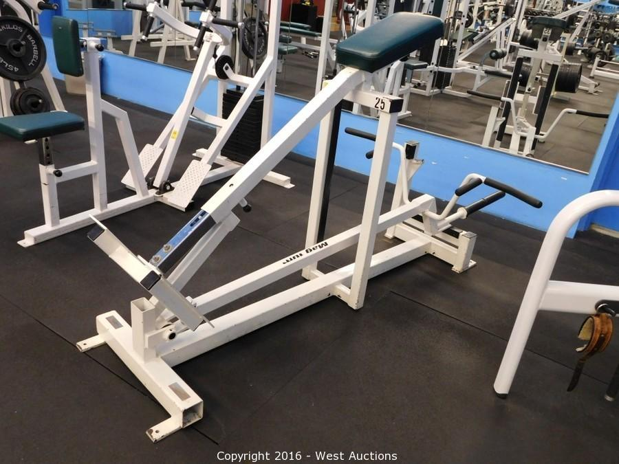 chest supported row machine for sale