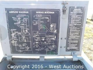 west auctions auction complete sellout freightliner flatbed ingersoll rand mc 2a rotary air compressor