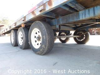 1998 Champion Trailers 26'x8' Flatbed Trailer