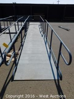 (3) Piece 31' Long Steel Deck Ramp