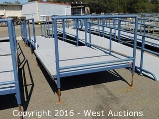 (3) Piece 29' Long Steel Deck Ramp