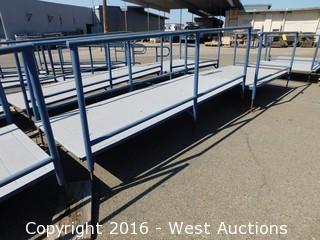 (3) Piece 30' Long Steel Deck Ramp