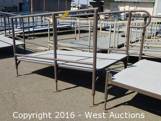 (1) 7'x5' Steel Deck Ramp with Adjustable Height Legs