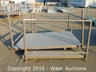 (2) 6'x5' Steel Deck Platforms (no legs)