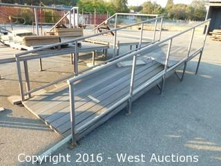 (1) 14'x4' Wide Steel Framed Ramp