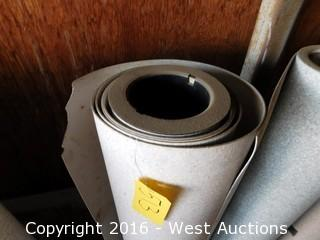 (1) 6' Wide Roll of Linoleum