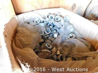 Bulk Lot of Commercial Hardware, Bolts and Nuts