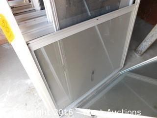 "(7) 71""x48"" Sliding Glass Windows"