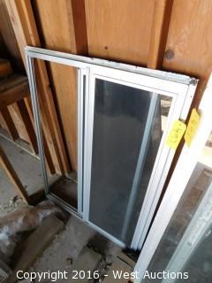 """(1) 35""""x47"""" Sliding Glass Window"""