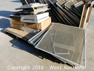 Bulk Lot; Pallet with Window Screens