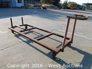 8'x3' Heavy Duty Material Cart