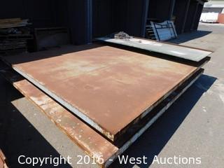 """Steel Welding Table Jib 122""""x12'"""