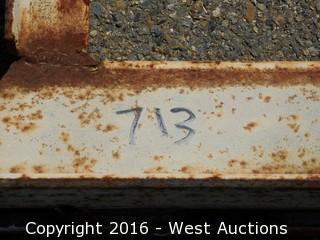 "483""x10' Steel Frame"