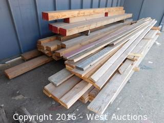 Bulk Lot of Lumber