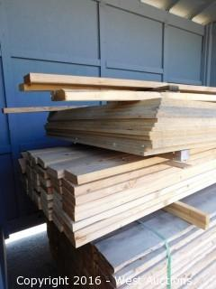 Bulk Lot of Lumber and Particle Board