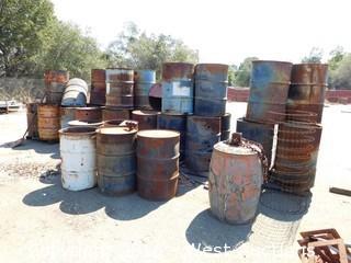 (30+) Steel Barrels