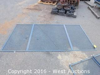 "(1) 50""x98"" Steel Window Cover"