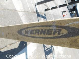6' Werner Fiberglass Folding Ladder