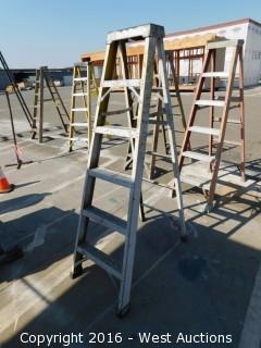 6' Greenbull Fiberglass Folding Ladder