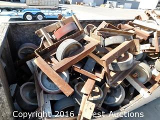 "Bulk Lot; 10' Crate of 12"" Yard Casters"
