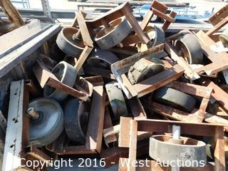 "Bulk Lot 8' Crate of 12"" Yard Casters"