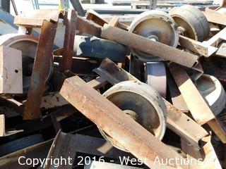 "Bulk Lot 9' Crate of 12"" Yard Casters"