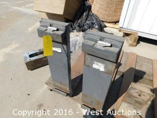"(2) 48""x8"" Heavy Duty Forklift Forks"