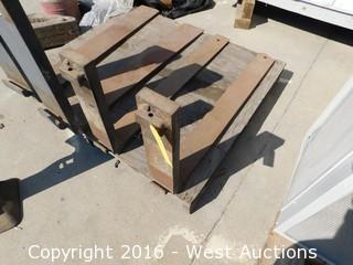 """(2) 46""""x5"""" Forklift Forks"""