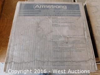 (12+) Boxes of Armstrong 12x12 Vinyl Tile