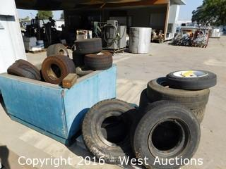 Bulk Lot of Used Tires