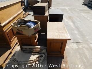 Bulk Lot of Desks and Furniture