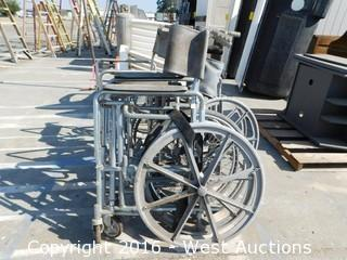 (4) Wheelchair Frames