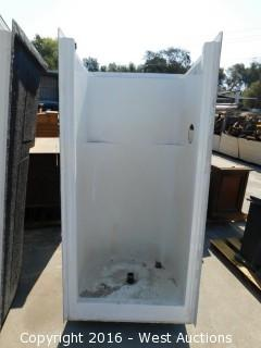 "29""x30""x70"" Walk-In Walled Shower"