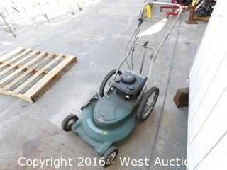 Garden Pride 22 Gas Mower with Briggs and Stratton Mower
