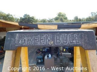 10' Greenbull Fiberglass Folding Ladder