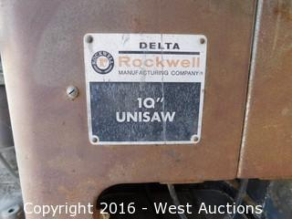 "Delta Rockwell 10"" Table Saw"