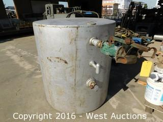 "4'x52"" Steel Tank with Lockable Valve"