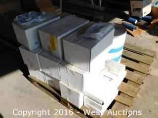 Pallet with (8+) Boxes of Circular Mini Louvers