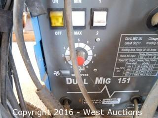 Chicago Electric Dual Mig 151 Welding System