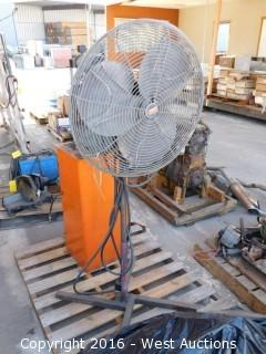 "Dayton 24"" Shop Fan"