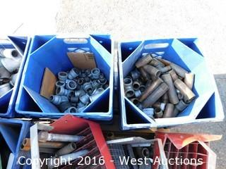 (8+) Boxes of Steel Pipes and Cylinders