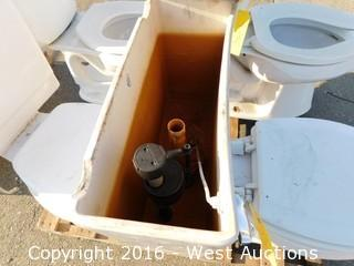 UPC Toilet with Tank